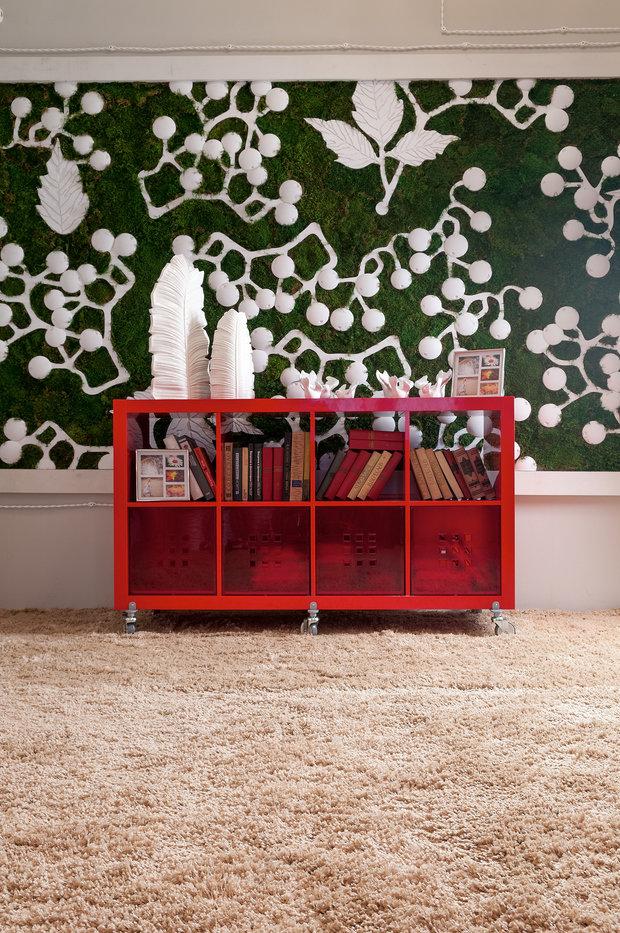 Фотография: Декор в стиле Прованс и Кантри, Гостиная, Интерьер комнат, Мансарда – фото на InMyRoom.ru
