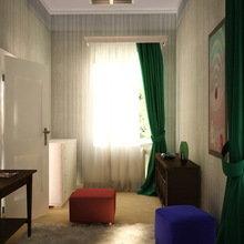Фотография:  в стиле Современный, Спальня, Интерьер комнат, Elitis, IKEA – фото на InMyRoom.ru