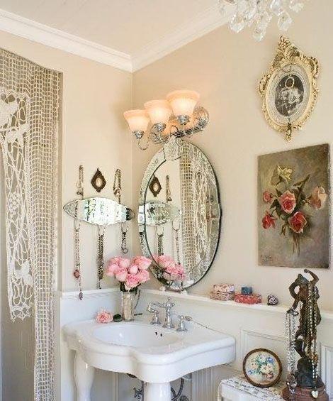 Фотография: Ванная в стиле , Декор интерьера, Дом, Стиль жизни, Советы, Шебби-шик – фото на InMyRoom.ru