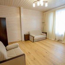 Фото из портфолио Загородный дом из клееного бруса 329 кв.м. – фотографии дизайна интерьеров на INMYROOM