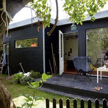 Фото из портфолио Дизайнерский деревянный дом – фотографии дизайна интерьеров на InMyRoom.ru