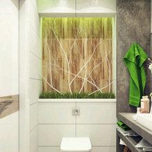 Фотография: Ванная в стиле Современный, Малогабаритная квартира, Интерьер комнат, Советы, Зеркала – фото на InMyRoom.ru