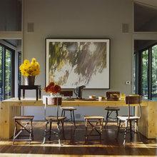 Фотография: Кухня и столовая в стиле Минимализм, Дом, Дома и квартиры, Дом на природе – фото на InMyRoom.ru