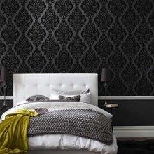 Фотография: Спальня в стиле Классический, Современный, Интерьер комнат, Кровать, Гардероб, Комод, Пуф, Табурет – фото на InMyRoom.ru