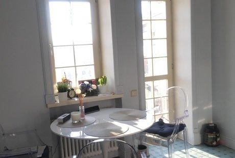 Цвет дивана и римских штор. Посоветуйте, пожалуйста!