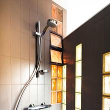 Фотография: Ванная в стиле Современный, Малогабаритная квартира, Квартира, Франция, Планировки, Дома и квартиры, Париж – фото на InMyRoom.ru