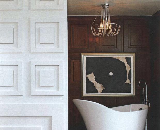 Фотография: Ванная в стиле Современный, Декор интерьера, Декор дома, Стеновые панели – фото на InMyRoom.ru