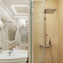 Фотография: Ванная в стиле Классический, Квартира, Проект недели, Москва, Сталинка, Мария Рублева, 2 комнаты, 40-60 метров – фото на InMyRoom.ru