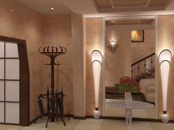 Фотография: Прихожая в стиле Классический, Современный, Декор интерьера, Мебель и свет, Светильник – фото на INMYROOM