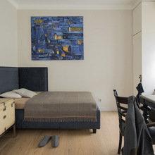 Фотография: Спальня в стиле Лофт, Декор интерьера, Мебель и свет, Проект недели, Лена Ленских – фото на InMyRoom.ru