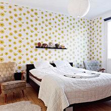 Фотография: Спальня в стиле Кантри, Скандинавский, Малогабаритная квартира, Квартира, Швеция, Дома и квартиры – фото на InMyRoom.ru
