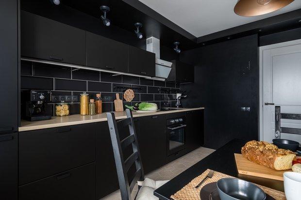 Фотография: Кухня и столовая в стиле Скандинавский, Советы, маленькая кухня, GeekBrains, как сделать кухню удобной, факультет дизайна, факультет дизайна жилых интерьеров – фото на INMYROOM