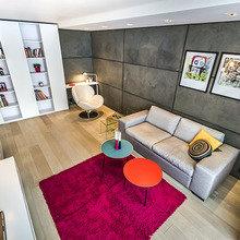 Фотография: Гостиная в стиле Современный, Эклектика, Декор интерьера, Мебель и свет, Декор дома – фото на InMyRoom.ru