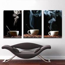 Модульная картина от дизайнера: Кофейное наслаждение