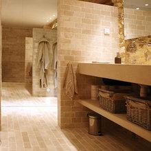 Фотография: Ванная в стиле Кантри, Дом, Франция, Дома и квартиры, Прованс – фото на InMyRoom.ru