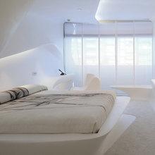 Фотография: Спальня в стиле Хай-тек, Дизайн интерьера – фото на InMyRoom.ru