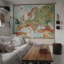 Фотография: Гостиная в стиле Кантри, Декор интерьера, Квартира, Аксессуары, Советы, чем украсить пустую стену, идеи декора пустой стены – фото на InMyRoom.ru