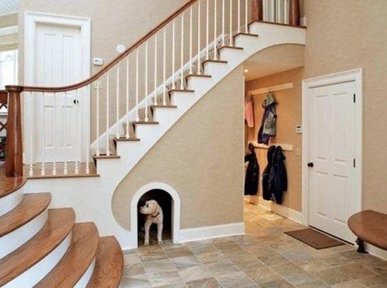 Фотография: Планировки в стиле , Советы, Гид, Дом и дача, ниша под лестницей – фото на InMyRoom.ru