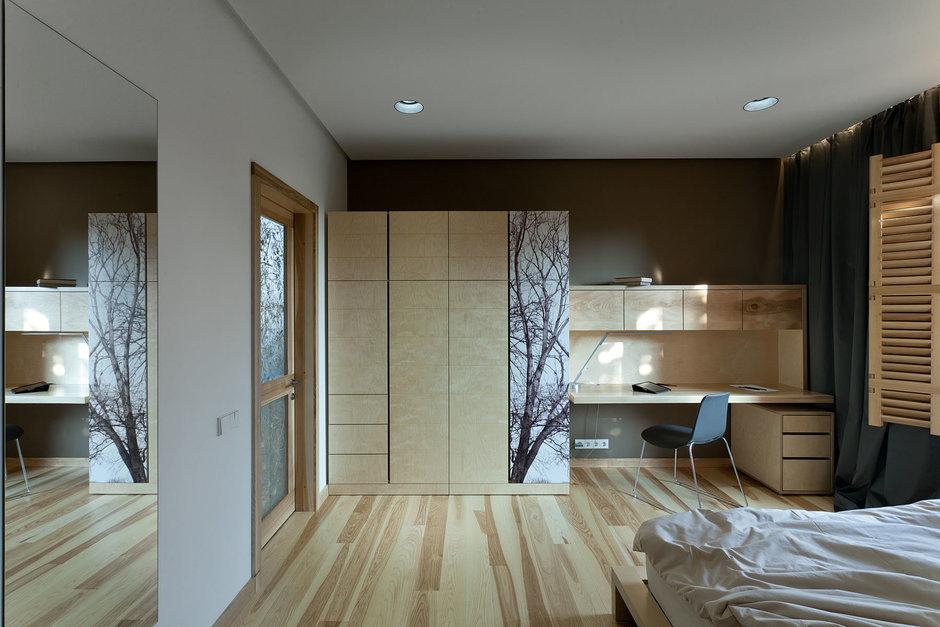 Фотография: Спальня в стиле Современный, Дом, Дома и квартиры, Проект недели, Эко – фото на InMyRoom.ru
