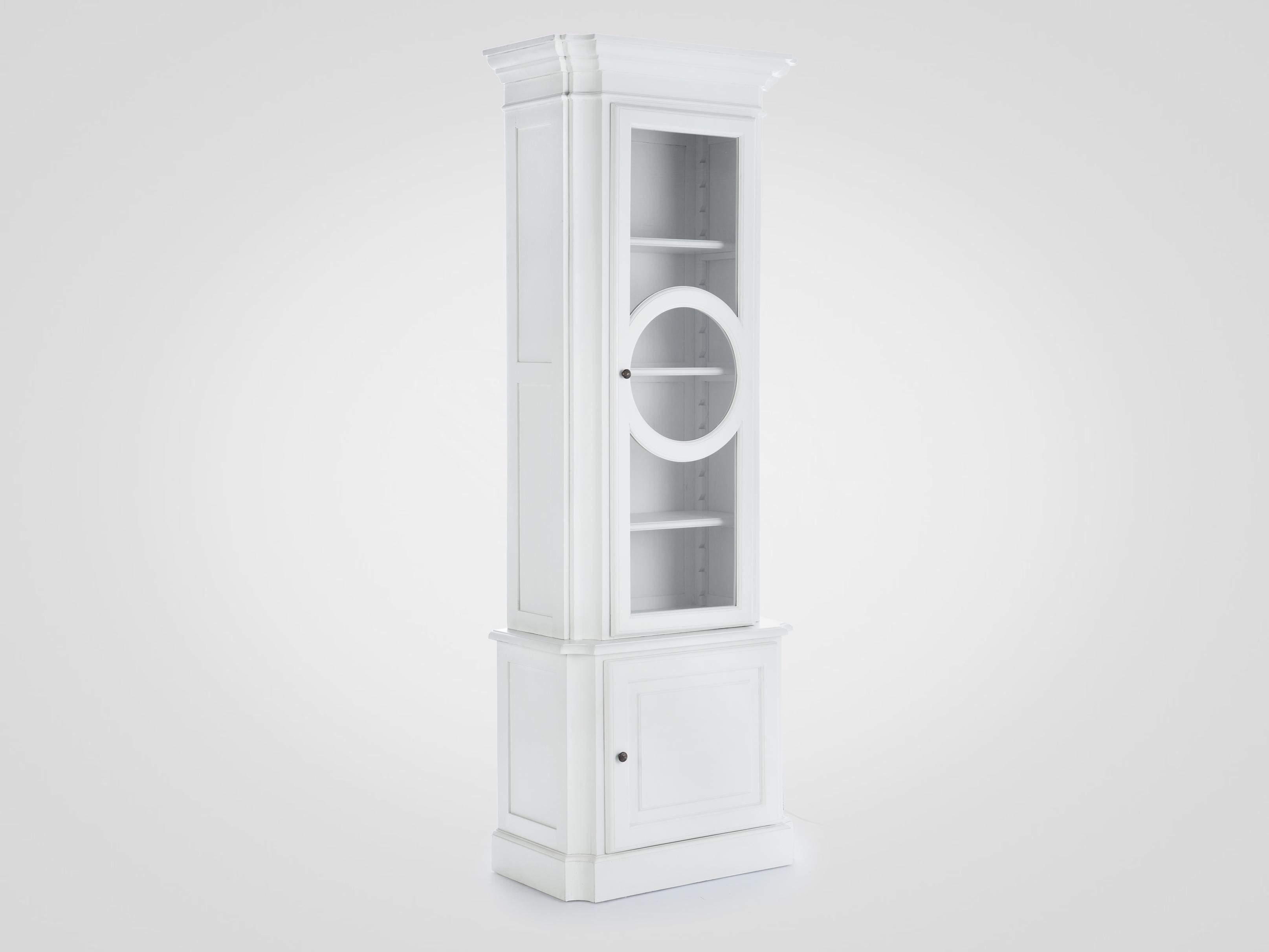 Купить Витрина из массива березы с декорированной дверцей 230х82х45 см, inmyroom, Нидерланды