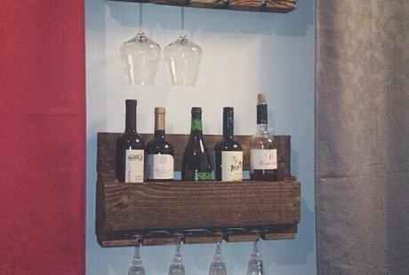Полки для вина