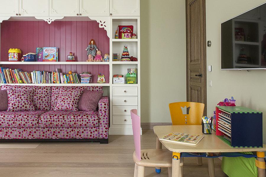 Фотография: Детская в стиле Прованс и Кантри, Эклектика, Квартира, Дома и квартиры, Проект недели – фото на InMyRoom.ru