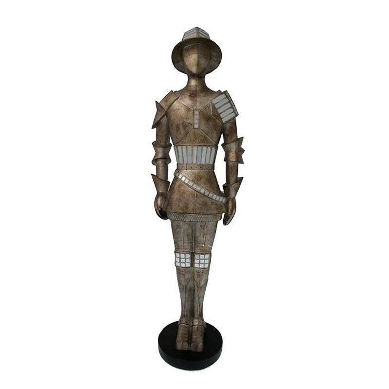 Статуэтка Van Roon Knight of Lancelot из состаренного серебра