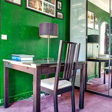 Фотография: Кабинет в стиле Современный, Карта покупок, Индустрия, Лондон, Нью-Йорк, Париж, Airbnb – фото на InMyRoom.ru