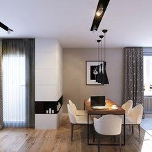 Фото из портфолио Квартира из натуральных материалов на Богатырском – фотографии дизайна интерьеров на InMyRoom.ru
