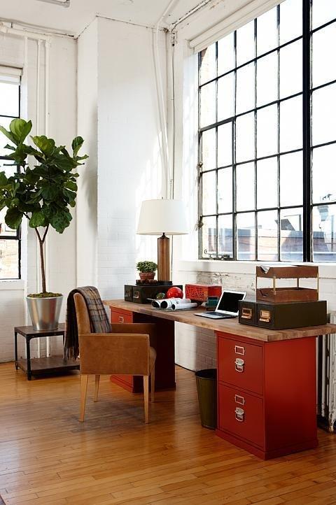 Фотография: Офис в стиле Прованс и Кантри, Лофт, Современный, Декор интерьера, Декор дома, Цвет в интерьере – фото на InMyRoom.ru
