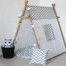 """Игровая палатка """"Grey Zigzag"""""""