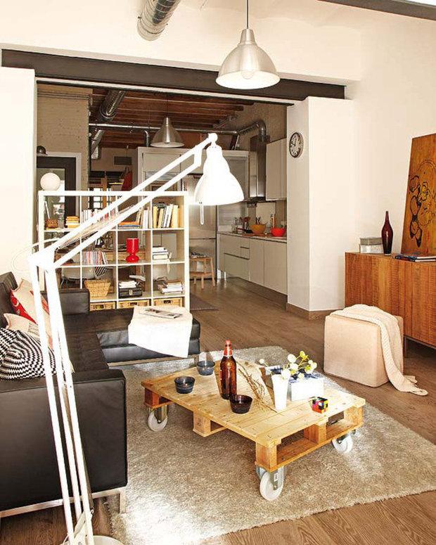 Фотография: Гостиная в стиле Лофт, Советы, уборка – фото на InMyRoom.ru