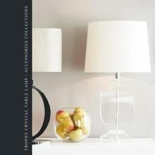 Лампа Trophy crystal table lamp
