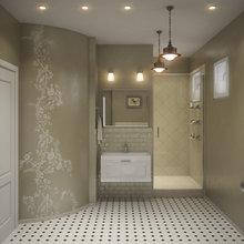 """Фото из портфолио """"Ванная со вкусом"""" – фотографии дизайна интерьеров на InMyRoom.ru"""