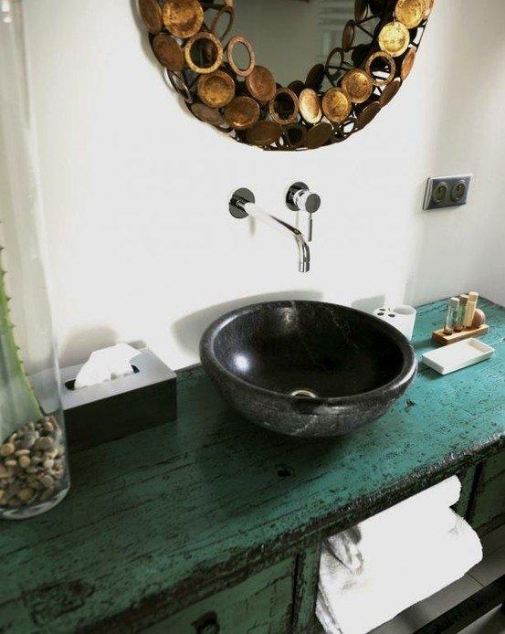 Фотография: Ванная в стиле Прованс и Кантри, Современный, Интерьер комнат, Прованс, Ванна – фото на InMyRoom.ru