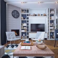 Фото из портфолио Скандинавские мотивы – фотографии дизайна интерьеров на InMyRoom.ru