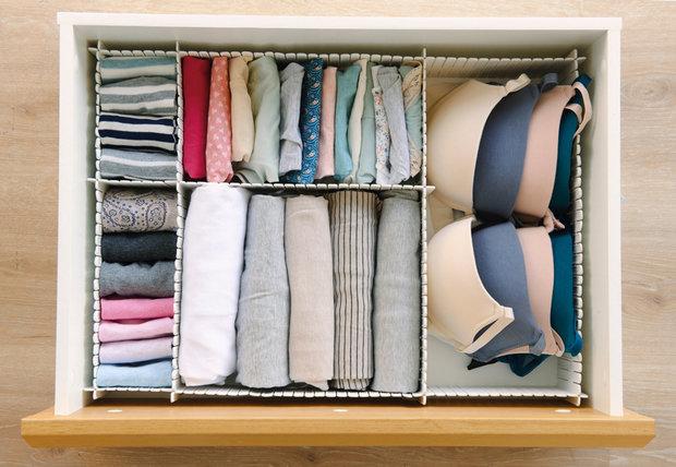 Фотография:  в стиле , Спальня, Гардеробная, Советы – фото на InMyRoom.ru
