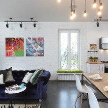 Фотография: Гостиная в стиле Лофт, Декор интерьера, Дом, Eames, Ju-Ju, pottery barn, Дома и квартиры, IKEA, Zara Home, Maison & Objet, Женя Жданова – фото на InMyRoom.ru