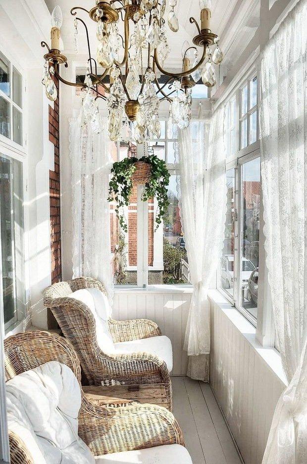 Фотография: Балкон в стиле Прованс и Кантри, Советы, как оформить балкон, идеи для дачи – фото на INMYROOM