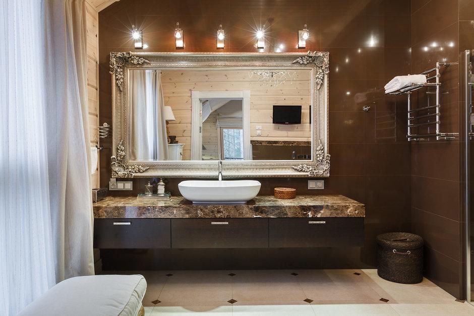 Фотография: Ванная в стиле Современный, Эклектика, Дом, Дома и квартиры, IKEA, Проект недели – фото на InMyRoom.ru