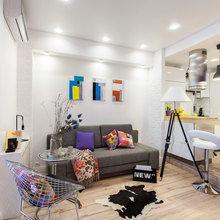 Фото из портфолио Дом,где поселился Кролик.Квартира-студия для молодой девушки. – фотографии дизайна интерьеров на INMYROOM