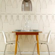 Фотография: Мебель и свет в стиле Минимализм, Декор интерьера, Декор дома, Обои, Стены – фото на InMyRoom.ru