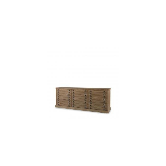 Комод SMALL FLAT IRON PRINT MAKERS CABINET DRAWER CHEST