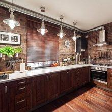 Фотография: Кухня и столовая в стиле Кантри, Лофт, Классический, Эклектика, Дом, Проект недели – фото на InMyRoom.ru