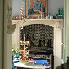 Фотография: Кухня и столовая в стиле Кантри, Декор интерьера, Дом, Дизайн интерьера, Цвет в интерьере – фото на InMyRoom.ru