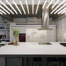 Фотография: Спальня в стиле Лофт, Квартира, Дома и квартиры, Лестница – фото на InMyRoom.ru