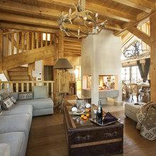 Фотография: Мебель и свет в стиле Кантри, Дом, Дома и квартиры, Дом на природе – фото на InMyRoom.ru