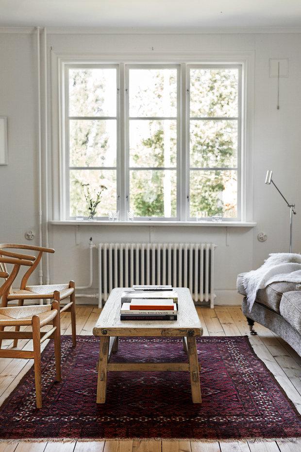 Фотография: Гостиная в стиле Прованс и Кантри, Скандинавский, Декор интерьера, Дом, Швеция, Декор дома, Белый, Стокгольм, Серый, уютный минимализм – фото на INMYROOM