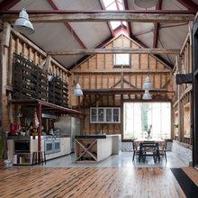 Фото из портфолио Реконструкция заброшенного сарая в Великобритании – фотографии дизайна интерьеров на INMYROOM