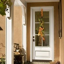 Фотография: Терраса в стиле Кантри, Дом, Дома и квартиры, Двери – фото на InMyRoom.ru